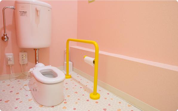 児童用トイレの様子